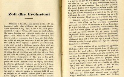 Zoti dhe Evolusioni