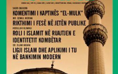 Kontributi i revistës 'Dituria islame' në fushën e predikimit islam-hytbeja si shembull