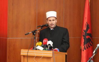 H. Bujar Spahiu, zgjidhet kryetar i Komunitetit Mysliman të Shqipërisë